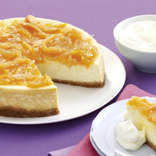 Orange and Ginger Marmalade Cheesecake