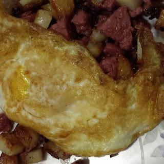 Braunschweiger Potato Hash