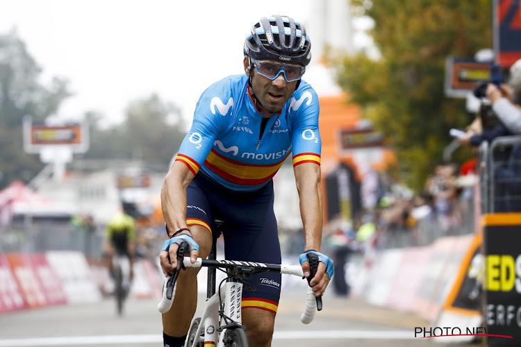 """Alejandro Valverde wil nog een jaar rijden: """"Het zou een fenomenale climax zijn"""""""
