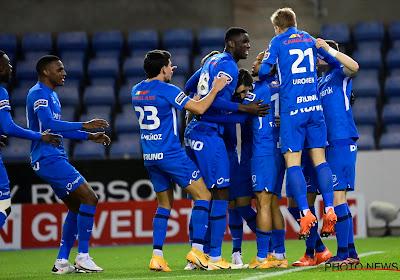 Vroeg doelpunt zet Racing Genk op weg naar verdiende zege tegen KV Kortrijk