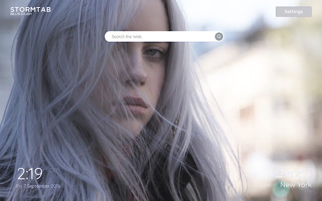 Billie Eilish Wallpapers New Tab Chrome Web Store