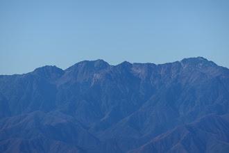 南駒ヶ岳・仙涯嶺など