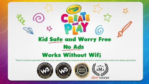 Crayola Create & Play: Coloring & Learning Games screenshots 8