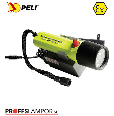 Ficklampa Peli Rechargeable 2460 LED Zone 1