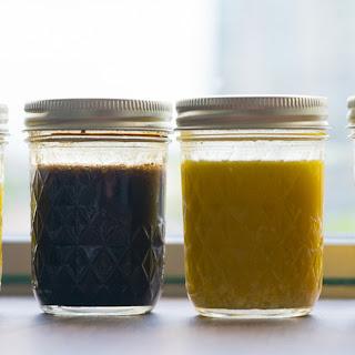 Four 4-Ingredient Salad Dressings Recipe