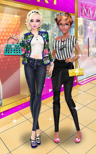 Glam Doll Salon: BFF Mall Date 1.5 screenshots 6