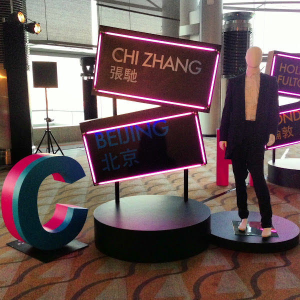 Photo: Fashion Extravaganza display for Chi Zhang