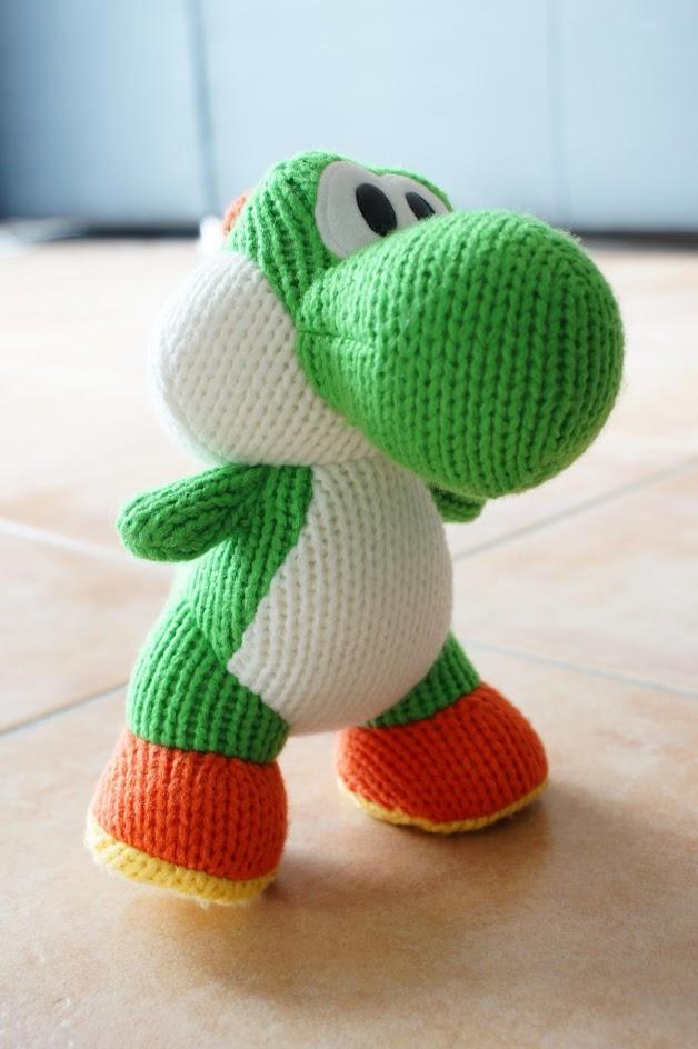 Yoshi Wool World - Yoshi - Amiibo - Amiibo Yoshi Wool World Series - Amigurumi, Big Nintendo