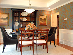 Photo: The dining room in our PRESTON model home at Winding Brook Estates in Saratoga, New York
