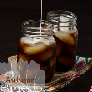 Autumn Spiced Toddy (Cold-brewed Iced Coffee).