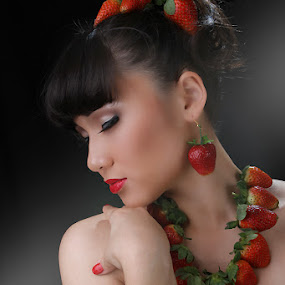 Fruits of Goddess by Lan Saflor - People Portraits of Women