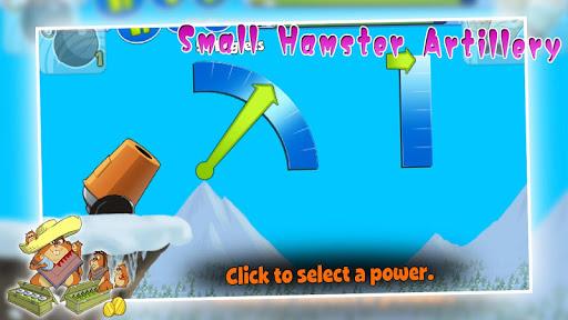 Small hamster artillery