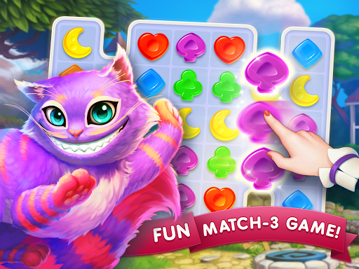 WonderMatchu2122uff0dMatch-3 Puzzle Alice's Adventure 2020 2.2 screenshots 22