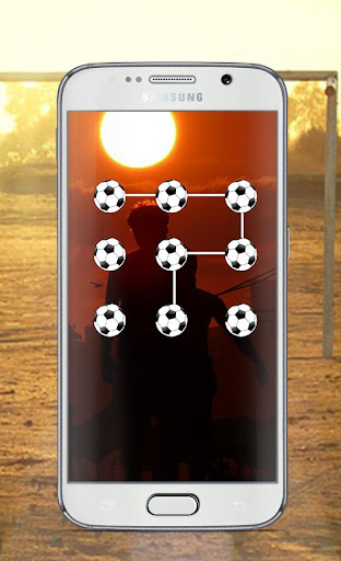 Football Lock Screen Pattern