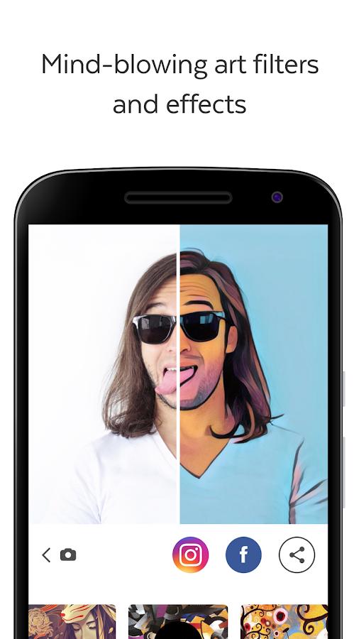 Depois do sucesso no iOS, Prisma chega finalmente ao Android 1