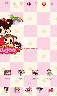 Hello Jadoo toon Theme - screenshot