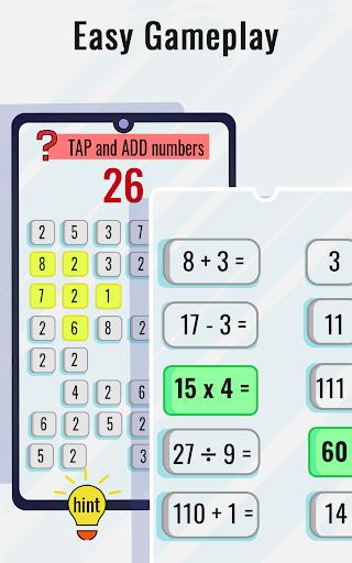 Math Puzzles game - Brain Training Math Games 🧠 screenshot 4