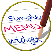 Widget-Simple Handwriting Memo