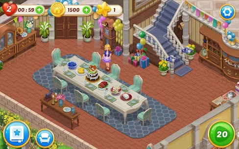 Matchington Mansion Mod 1.40.1 Apk [Unlimited Coins/Lives] 6