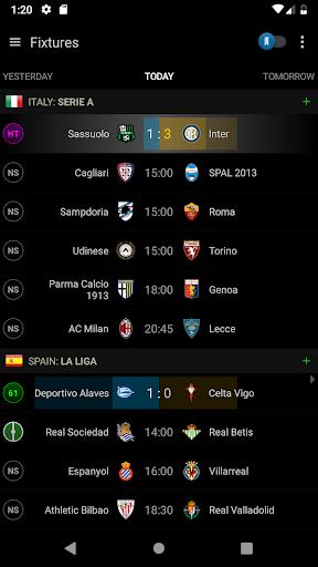 Live Scores Soccer Center 3.7.6 screenshots 1