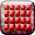 Red Keyboard Color icon