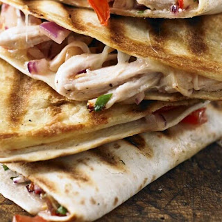 Quick and Easy Turkey Quesadillas Recipe