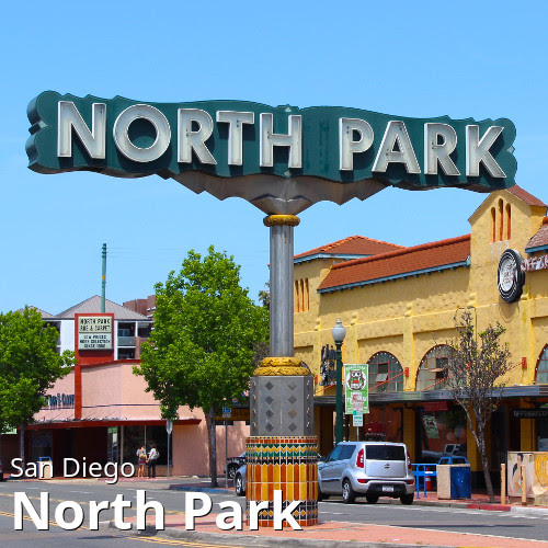San Diego's North Park neighborhood