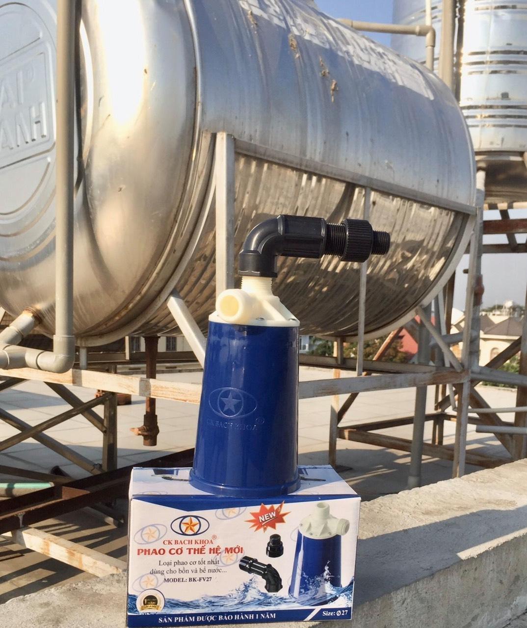 Phao cơ bồn nước lắp đặt mọi khu vực