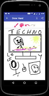 Draw Text Art app - náhled