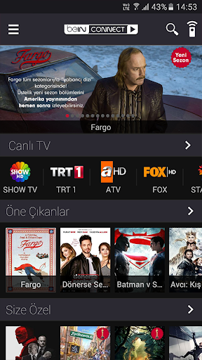 beIN CONNECT screenshot