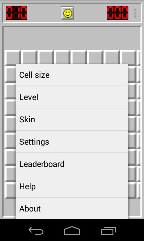 Minesweeper Classic fr Windows- screenshot