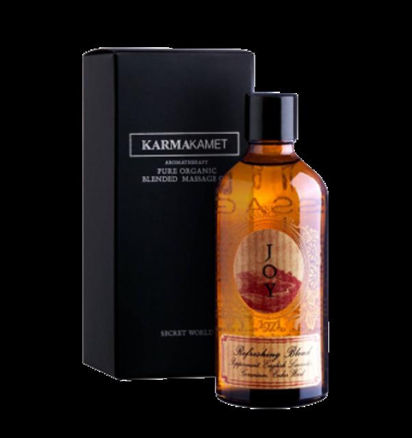 5. Karmakamet Aromatherapy Blended Massage Oil