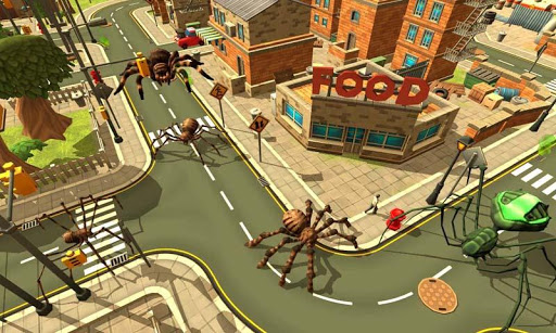 Spider Simulator: Amazing City