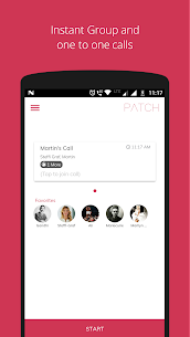 Patch  – Easy, Fast & Secure Group Calls 1
