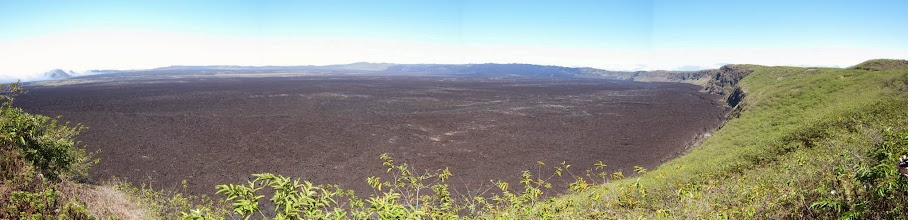 Photo: Sierra Negra caldera