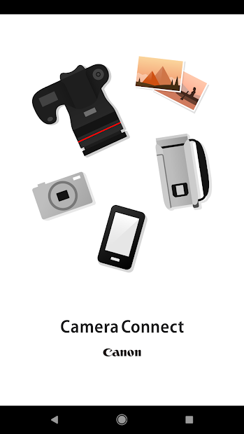 Canon Camera Connect Android App Screenshot