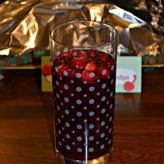 Cranberry Sangria.