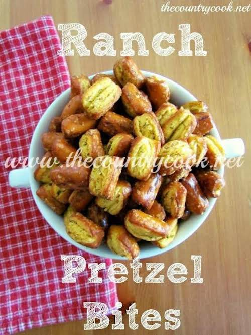 "Ranch Pretzel Bites ""I wanted to tell you how amazing these are!..."