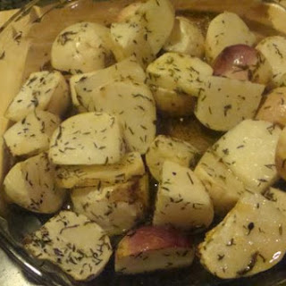 Roasted Purple White Top Turnip With Garden Thyme