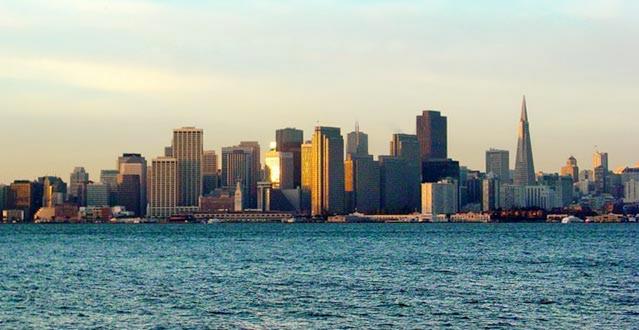 San Francisco Skyline in Illustrator