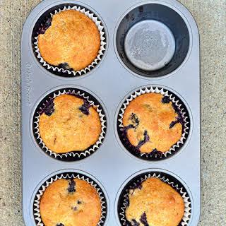 Orange Blueberry Muffins.