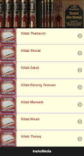 Hadits Sunan Abu Daud screenshot