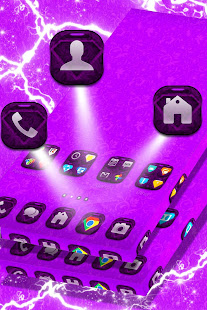 Download Vintage Purple Launcher For PC Windows and Mac apk screenshot 3