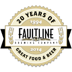 Logo for Faultline Brewing Company