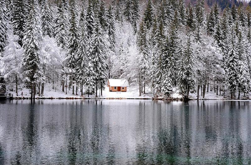 la casetta del lago di Fusine di nicoletta lindor