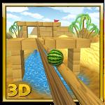 Watermelon Balance 3D Ball Icon