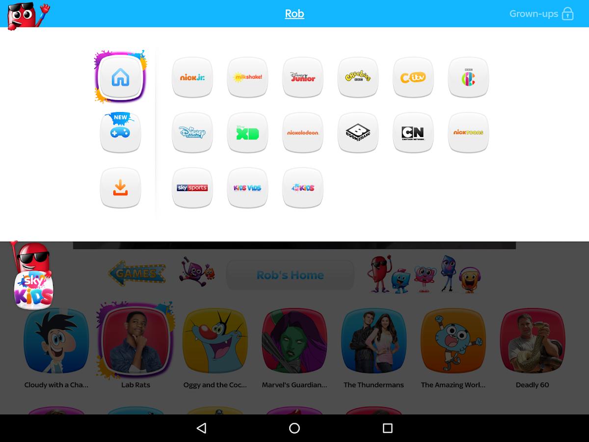 Kids Sky App