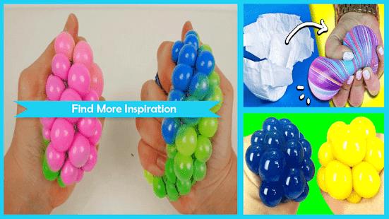 Unique DIY Squishy Stress Ball - náhled