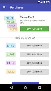 Microsoft exFAT/NTFS for USB by Paragon Software Screenshot