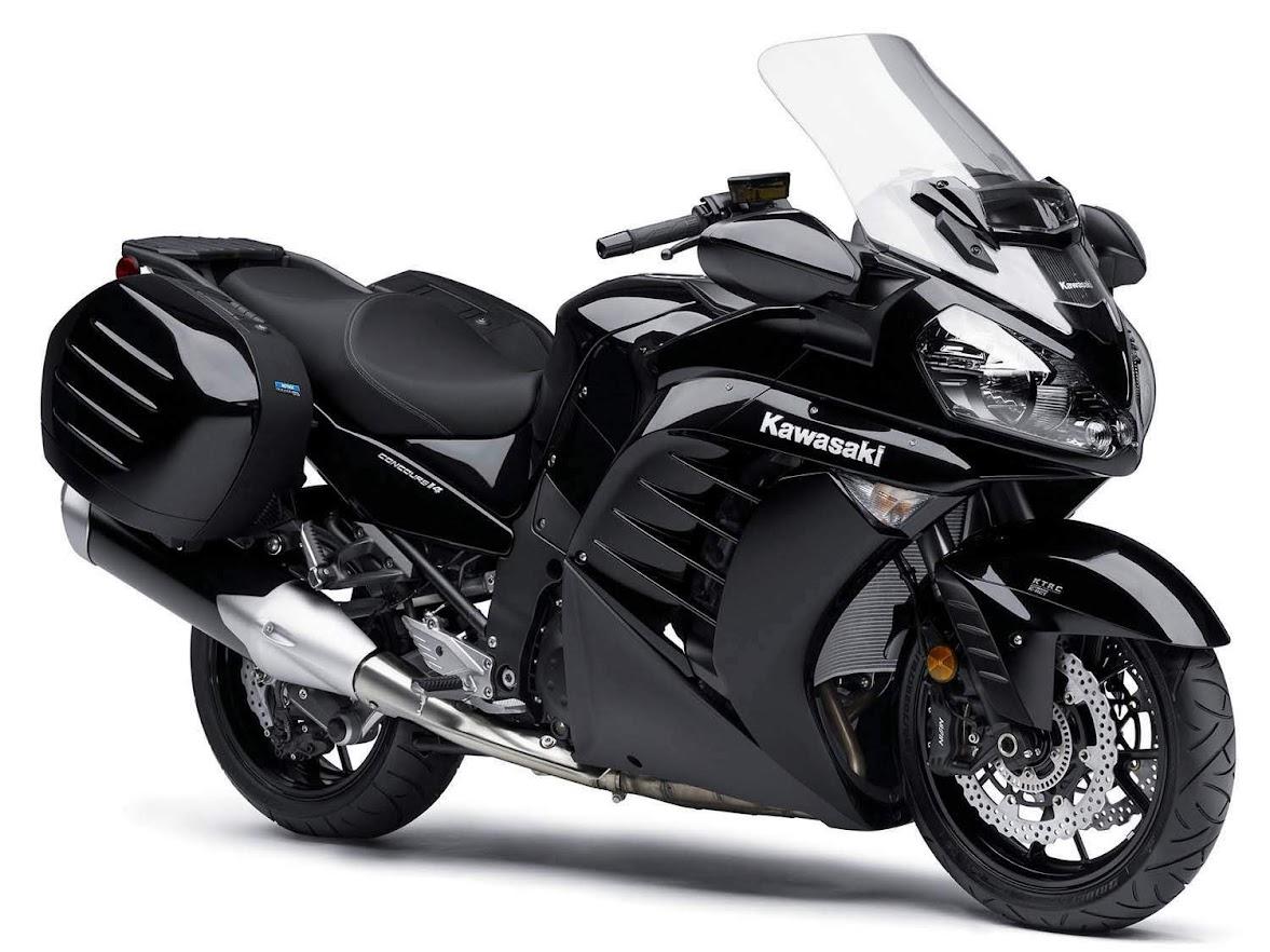 Kawasaki GTR 1400 Concours-manual-taller-despiece-mecanica